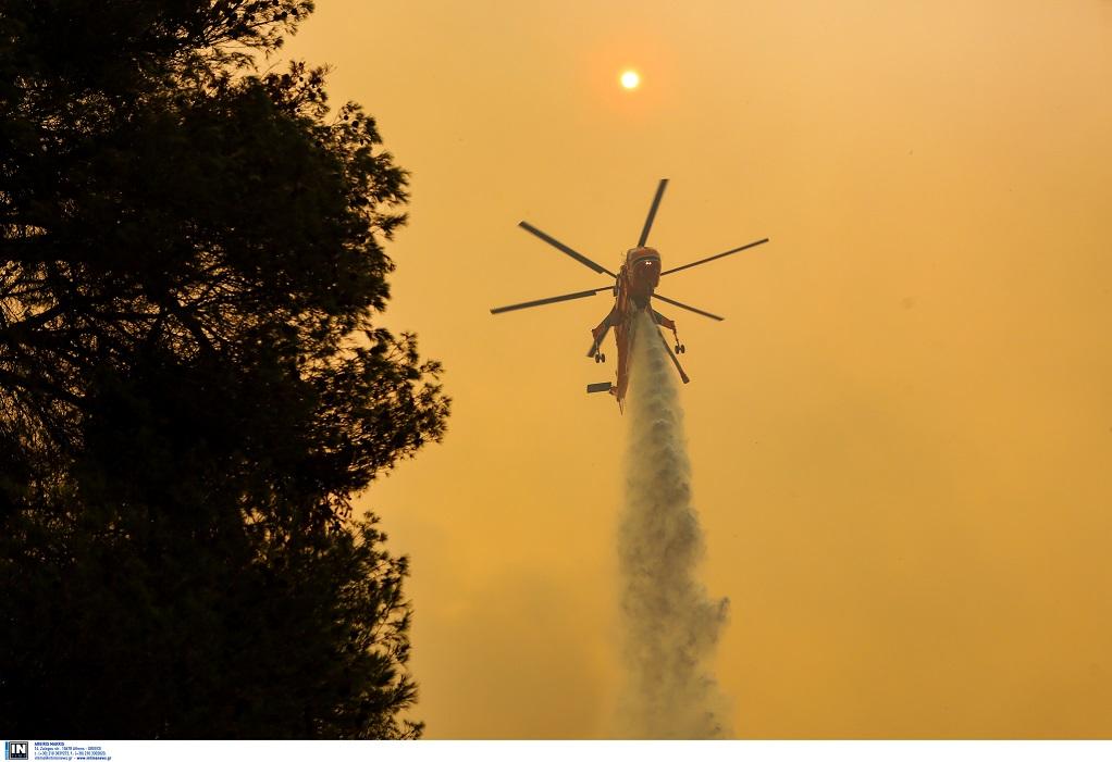 Εκδηλώθηκαν 56 πυρκαγιές σ' ένα 24ωρο!