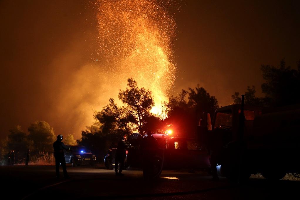 Πυρκαγιά στην Εύβοια: Αποκλείστηκε το ενδεχόμενο βραχυκυκλώματος