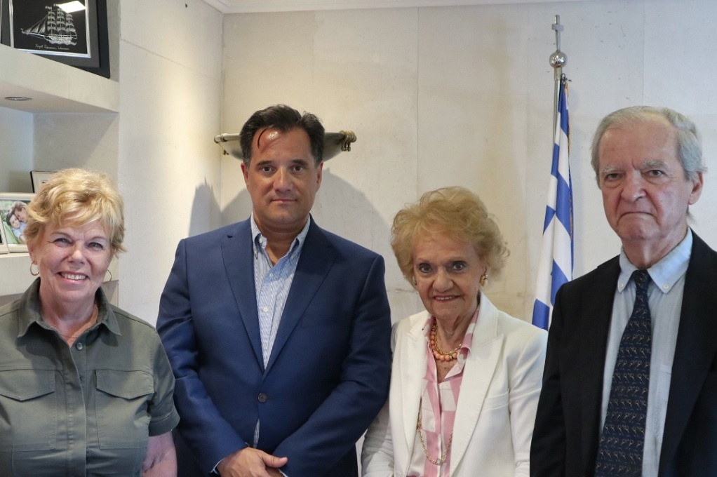 Συνάντηση Γεωργιάδη με την Πρόεδρο και μέλη του Π.Σ.Ε.