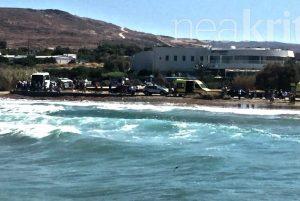Ηράκλειο: Δραματική επιχείρηση διάσωσης – Κινδύνευσαν 7 να πνιγούν άτομα