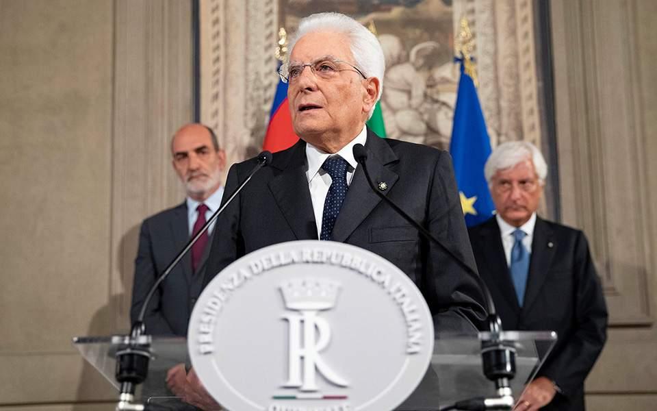 Ιταλία- Νέα προθεσμία για τον σχηματισμό κυβέρνησης πλειοψηφίας
