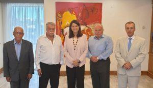 Συνάντηση Κεραμέως με το Προεδρείο του Κεντρικού Ισραηλιτικού Συμβουλίου Ελλάδος