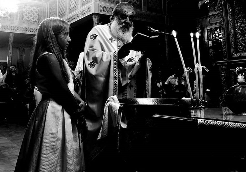 Στόκας-Ψυχίδου: Φωτογραφίες από τη βάφτιση της 9χρονης κόρης τους!