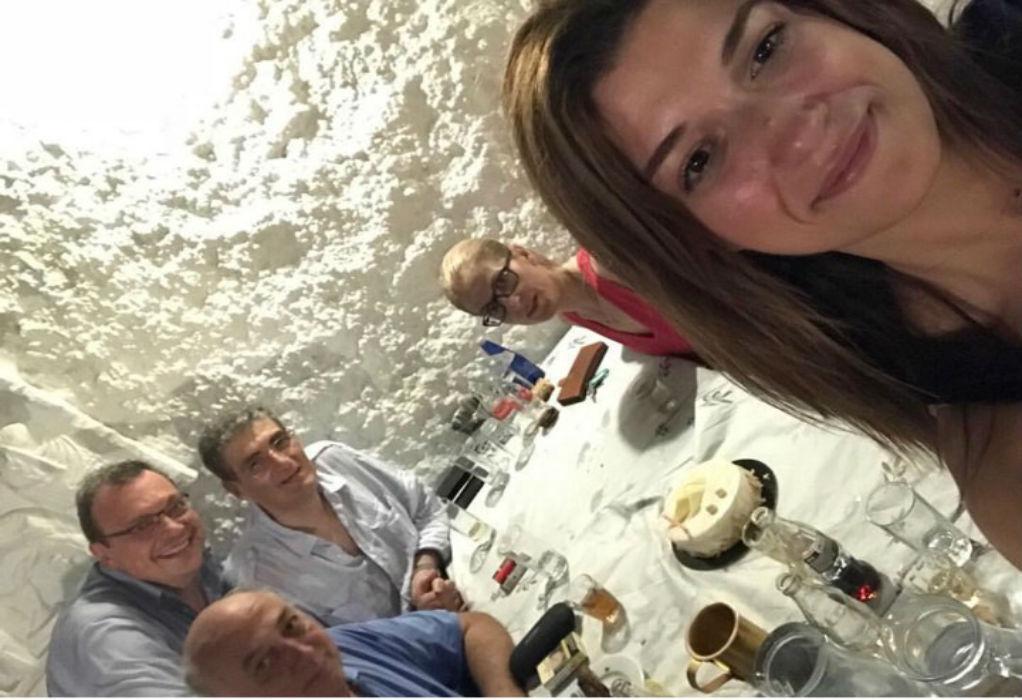 Το τραπέζι της Νοτοπούλου για τα… 31α γενέθλιά της