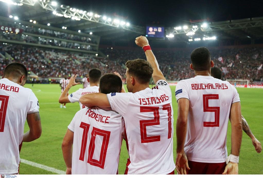 Μεγάλη νίκη του Ολυμπιακού επί της Κράσνονταρ – Με το ένα «πόδι» στους ομίλους του Champions League