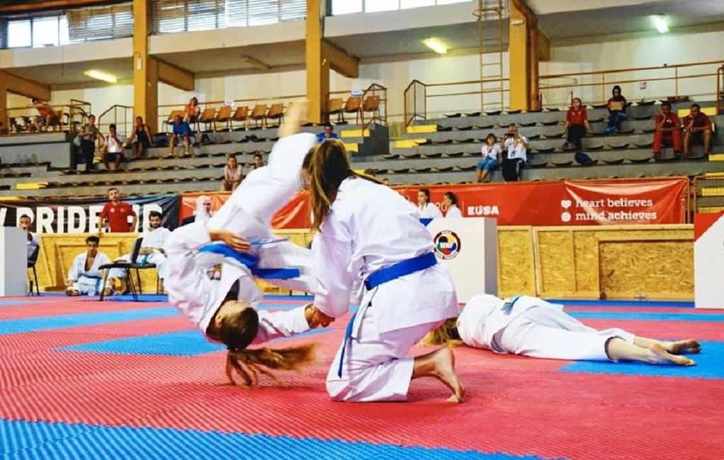 Επτά μετάλλια για την Ελλάδα στο Ευρωπαϊκό πανεπιστημιακό πρωτάθλημα μαχητικών τεχνών