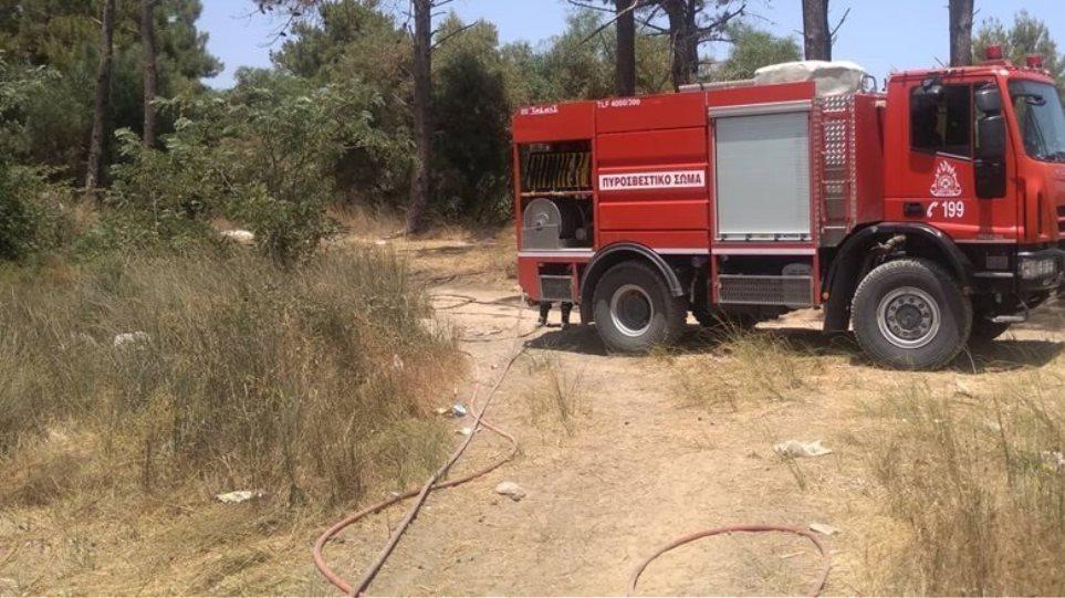 Πυρκαγιά στο ΧΥΤΑ Μαυροράχης-Πιο πιθανή αιτία η αυτοανάφλεξη