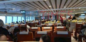 Με τέσσερις ώρες καθυστέρηση έφτασαν οι επιβάτες του Golden Star Ferries