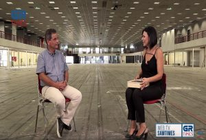 Κ. Ποζρικίδης στο GRTimes: Στόχος η ανάπλαση της ΔΕΘ να ολοκληρωθεί το 2026 (VID)