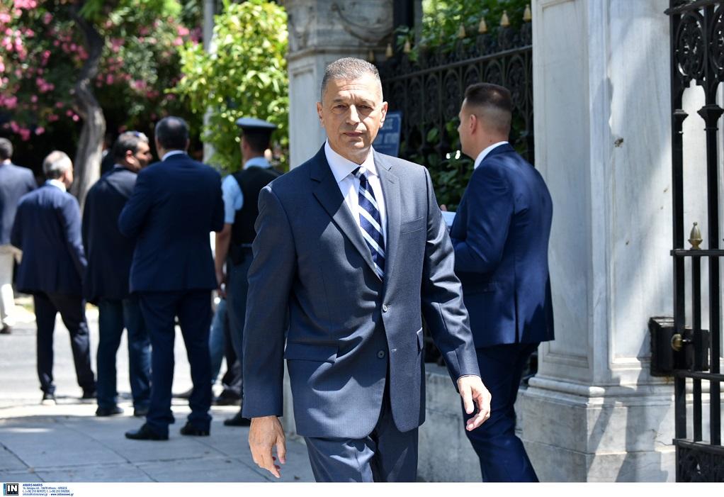 Στη Μυτιλήνη ο υφυπουργός Άμυνας Αλ. Στεφανής