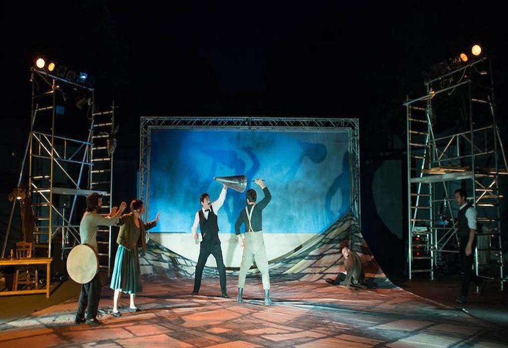 Το χώμα βάφτηκε κόκκινο στο Ανοιχτό Θέατρο Συκεών «Μάνος Κατράκης»
