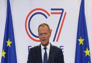 Τουσκ: Δύσκολη δοκιμή για την ενότητα και την αλληλεγγύη η σύσκεψη G7