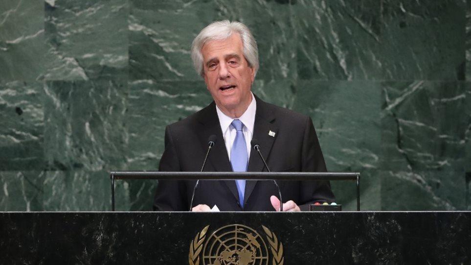 Με κακοήθη όγκο στον πνεύμονα διαγνώστηκε ο αντικαπνιστής πρόεδρος της Ουρουγουάης