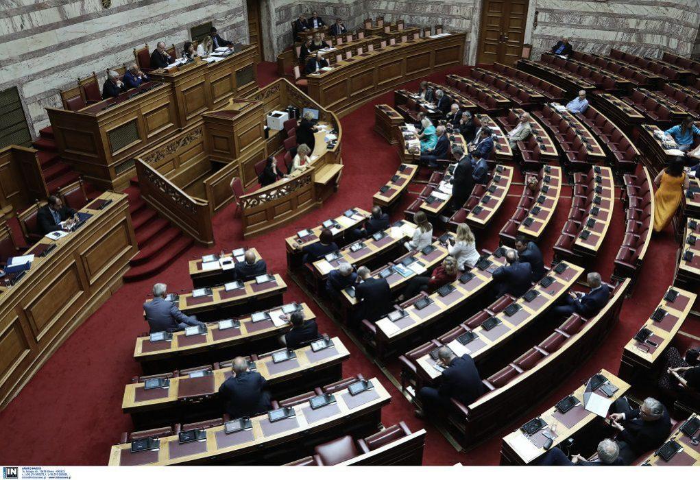 Βουλή: Απορρίφθηκε η ένσταση αντισυνταγματικότητας του ΣΥΡΙΖΑ