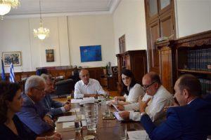 Σύσκεψη εργασίας για την άμεση δημιουργία του τεχνολογικού πάρκου «Thess Intec» στην Περαία