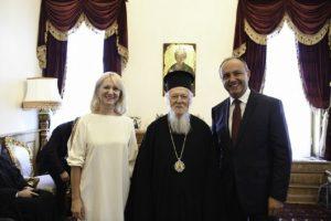Συνάντηση Θ. Καράογλου με τον Οικουμενικό Πατριάρχη Βαρθολομαίο στο Φανάρι