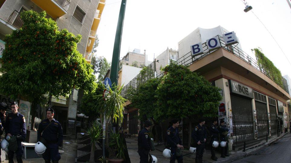 Εισαγγελία Πρωτοδικών- «Πράσινο φως» για την εκκένωση του ΒΟΞ, της άτυπης έδρας του Ρουβίκωνα