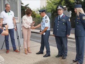 Ο Οργανισμός Τουρισμού Θεσσαλονίκης δώρισε αυτοκίνητο στην τουριστική αστυνομία (ΦΩΤΟ)