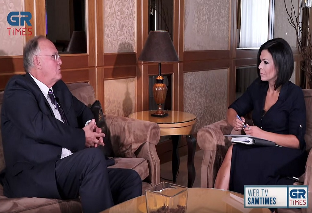 Π. Δούκας στο GrTimes: Αν τα κτήματα δεν ανήκαν στη Μονή Βατοπεδίου θα ήταν του Τουρκικού δημοσίου (VIDEO)