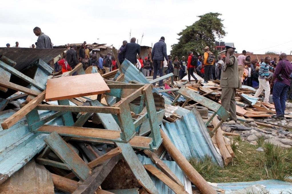 Κένυα: Επτά μαθητές νεκροί από κατάρρευση αίθουσας σε σχολείο