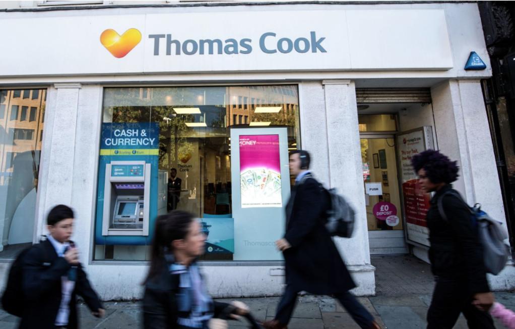Η Thomas Cook στα πρόθυρα κατάρρευσης με χρέη 1,7 δισ.