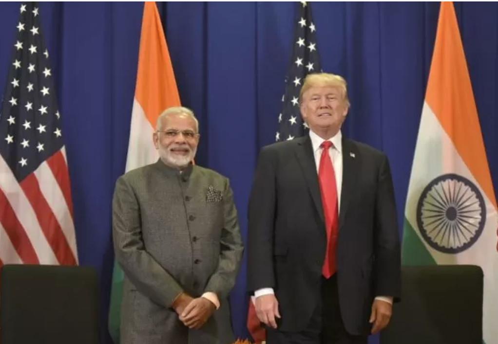 Επιχείρηση «γοητεία» του Τραμπ προς τον Ινδό πρωθυπουργό