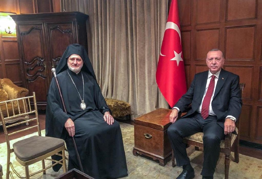Συνάντηση Αρχιεπισκόπου Ελπιδοφόρου με Ερντογάν: Στο επίκεντρο ανθρώπινα δικαιώματα και θρησκευτικές ελευθερίες