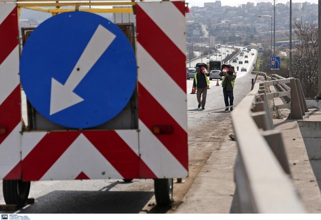Εργασίες συντήρησης 2η Εθνική Οδό Θεσσαλονίκης–Καβάλας