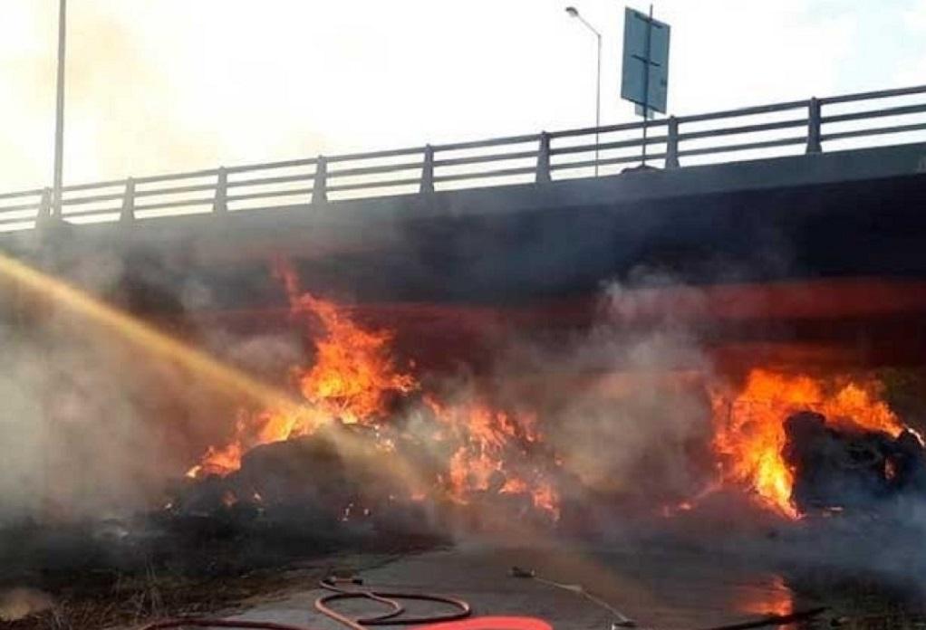 Για τουλάχιστον ένα μήνα κλειστή η Εγνατία Οδός στην γέφυρα της Ιτέας