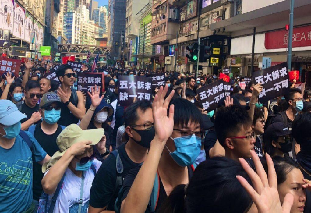 Χονγκ Κονγκ: Πορεία την Πρωτοχρονιά σχεδιάζουν οι διαδηλωτές
