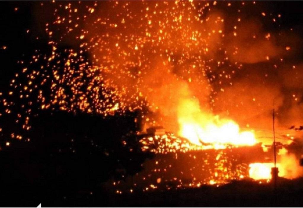 Κύπρος: εκρήξεις στα κατεχόμενα (ΒΙΝΤΕΟ)