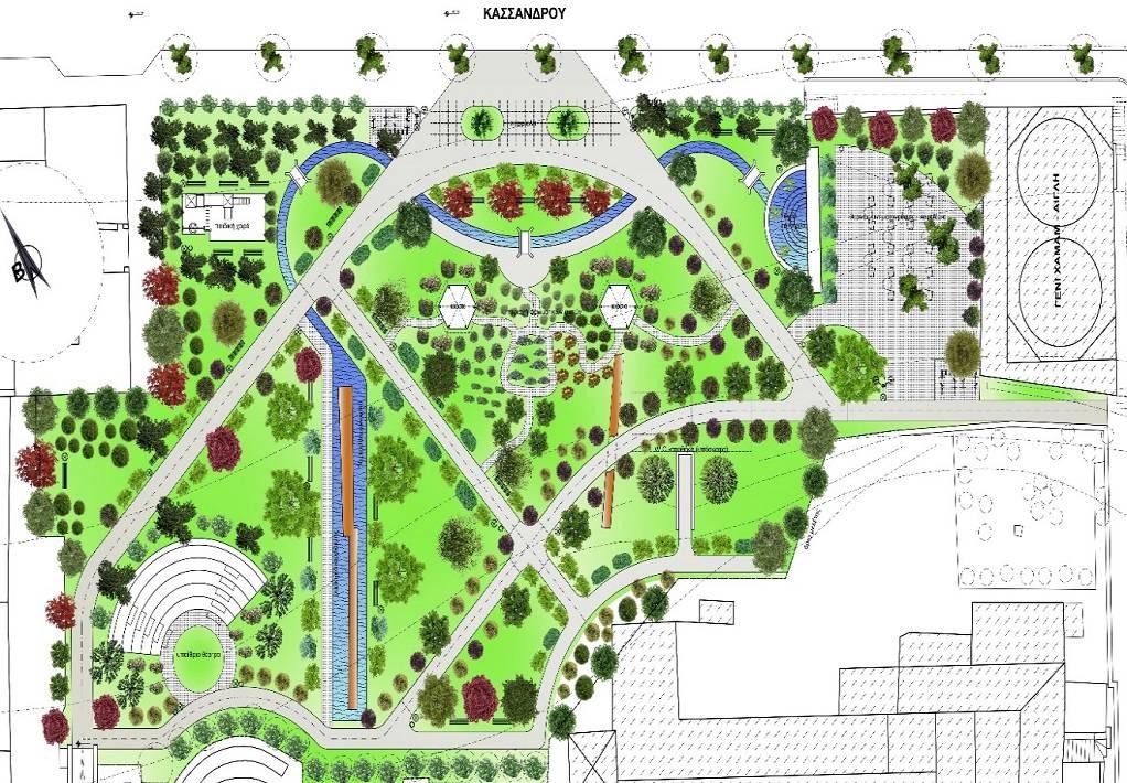 Πρόταση δασοκόμων: Ένας κήπος στο Γενί Τζαμί