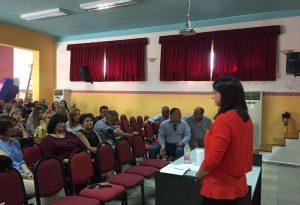 Συνάντηση Κεραμέως με τους εκπαιδευτικούς της Λέρου (ΦΩΤΟ)