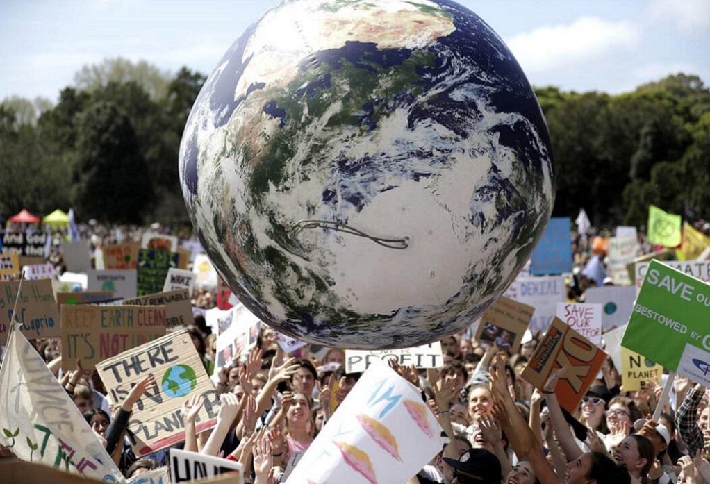 Παγκόσμια απεργία για την κλιματική αλλαγή