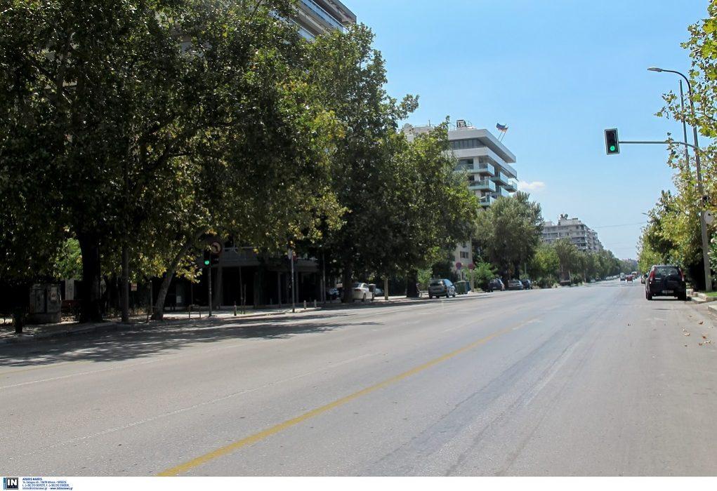 Ανατράπηκε αυτοκίνητο μετά από τροχαίο στη Λεωφόρο Μ.Αλεξάνδρου