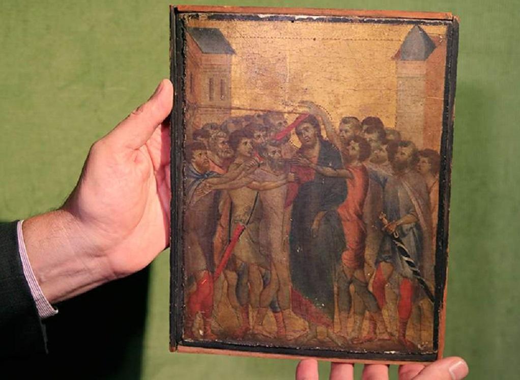 Μεσαιωνικός πίνακας αξίας 6 εκατ. ευρώ βρέθηκε στην κουζίνα ηλικιωμένης γυναίκας