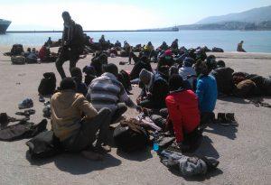 Στη Μυτιλήνη 525 αιτούντες άσυλο μέσα σε 48 ώρες