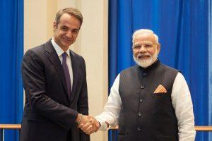 Η ενίσχυση των οικονομικών σχέσεων Ελλάδας-Ινδίας στη συνάντηση Μητσοτάκη-Μόντι