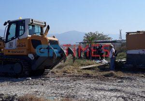 Σε ένα μήνα θα ολοκληρωθούν οι εργασίες στα Τσαΐρια της Περαίας (ΦΩΤΟ-VIDEO)