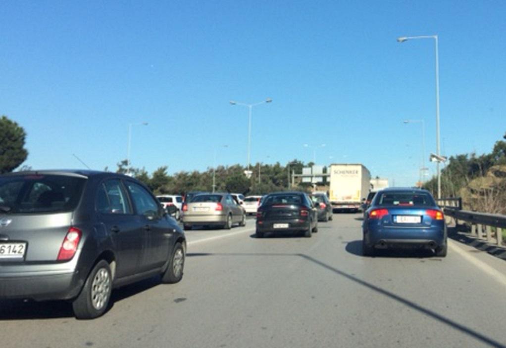 Ατύχημα στον Περιφερειακό Θεσσαλονίκης