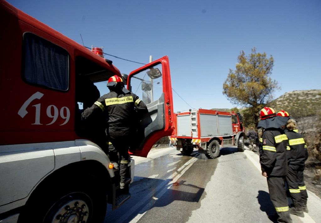 Κέρκυρα: Υπό ύφεση η φωτιά στους Καλαφατιώνες