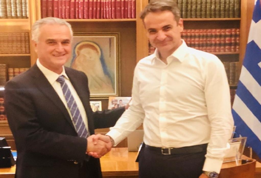 Με τον πρωθυπουργό συναντήθηκε ο Σ. Αναστασιάδης