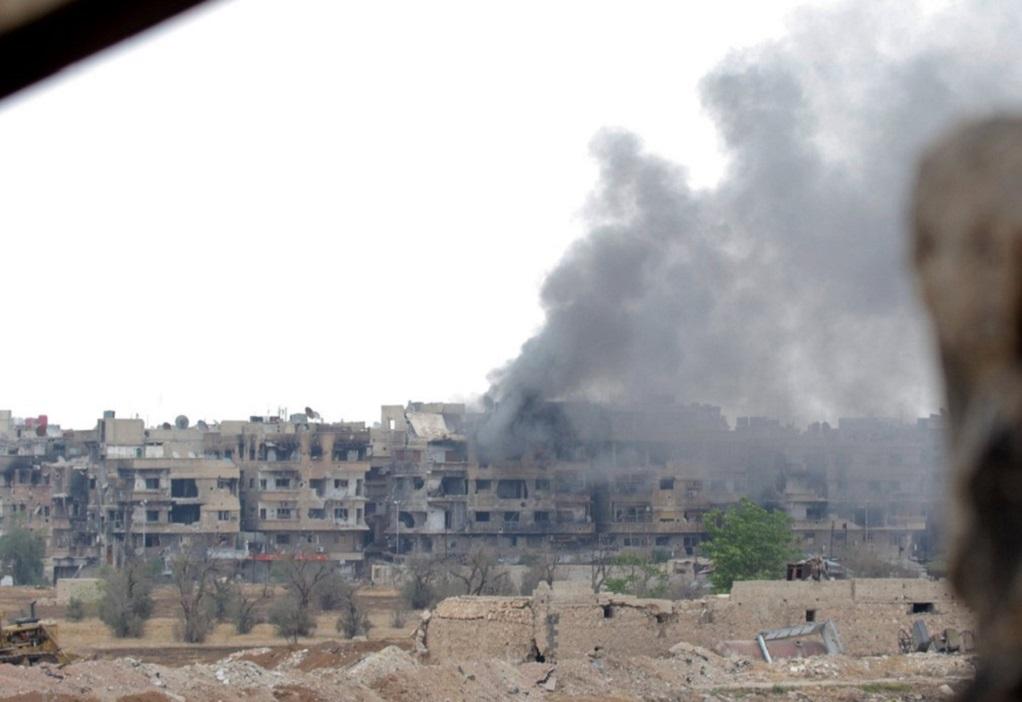 Η ρωσική στρατονομία έφθασε στο Κομπάνι της Συρίας
