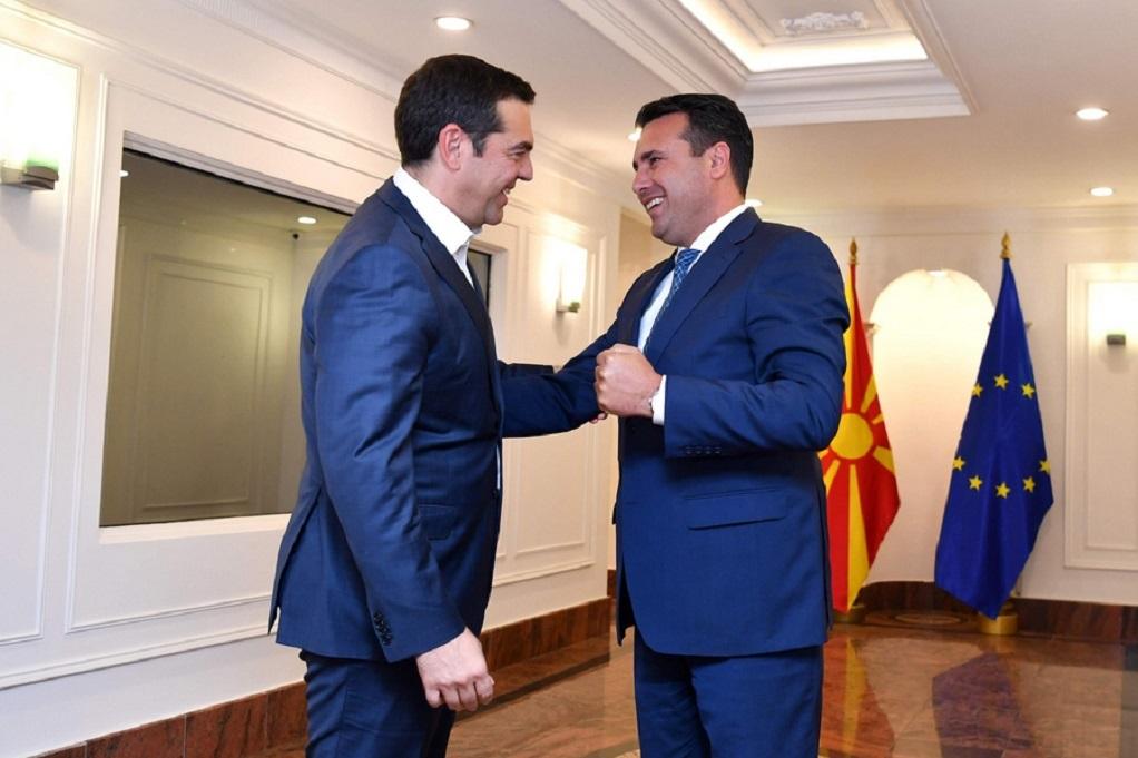 Τσίπρας και Ζάεφ για την εισδοχη της Βορ. Μακεδονίας στο ΝΑΤΟ