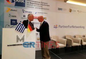 Η Γερμανία τίμησε με το Σταυρό Αξίας τον Στέφανο Τζιρίτη