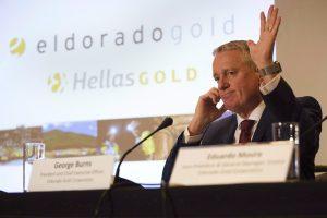 Ανοικτή για πληρωμή υψηλότερων δικαιωμάτων χρήσης στην Ελλάδα, δηλώνει η Eldorado Gold
