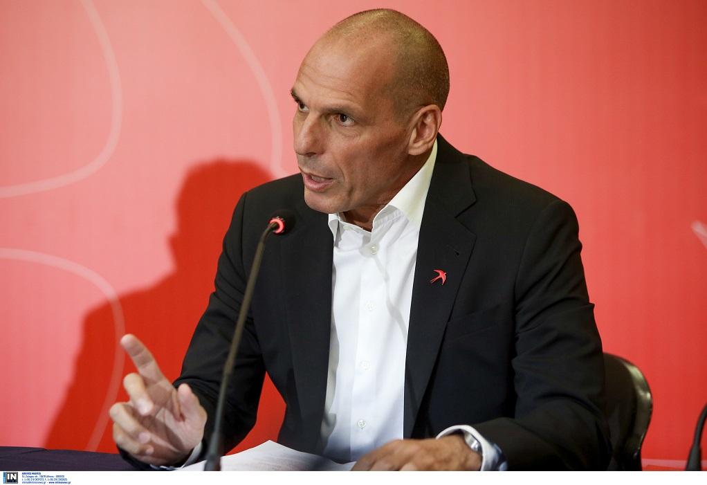 Βαρουφάκης για πόθεν έσχες: Το λογαριασμό στην Ελβετία τον έχω για να πληρώνω το φόρο στον Ευκλείδη!