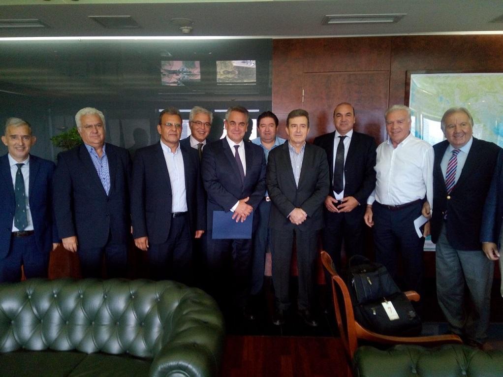 Συνάντηση Μ.Χρυσοχοΐδη με αντιπροσωπεία της Κεντρικής Ένωσης Επιμελητηρίων Ελλάδος