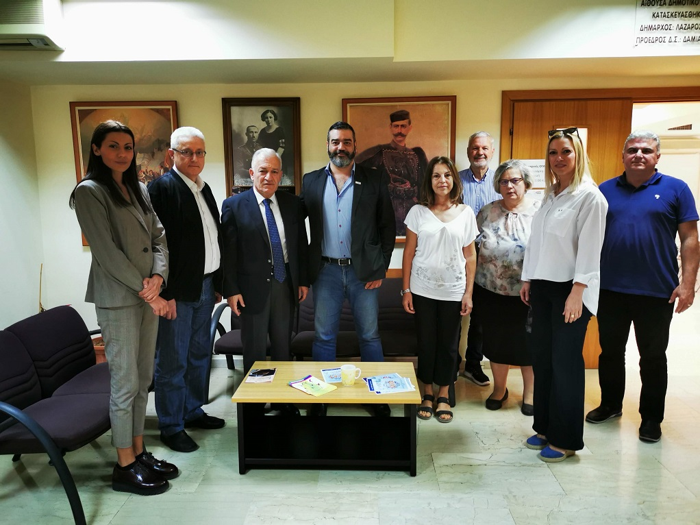 Συνάντηση Δημάρχου Αμπελοκήπων-Μενεμένης με τον Διευθύνοντα Σύμβουλο Κτιριακών Υποδομών