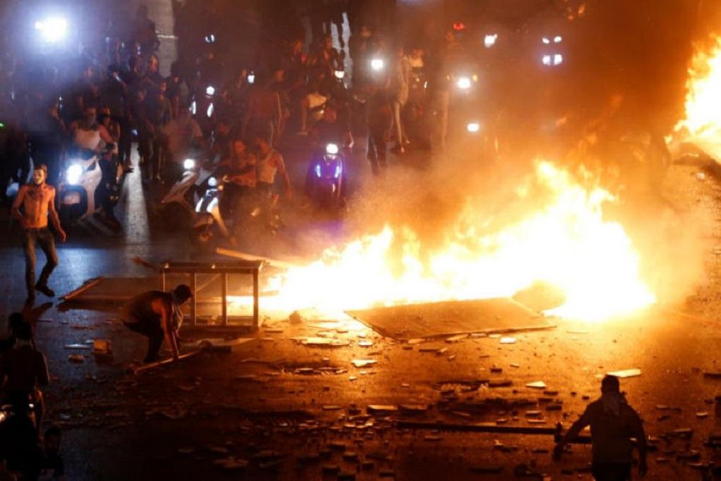 Λίβανος: Βίαιες συγκρούσεις στο κέντρο της Βηρυτού